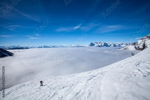 Eine Skitour in Werfenweng