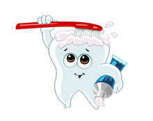 Little Tooth Cartoon