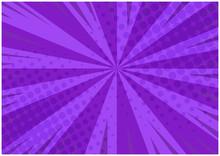 Abstract Purple Striped Retro ...