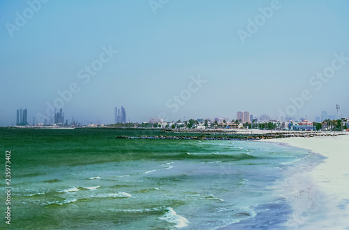 Fotografie, Obraz  The Shore Of The Arabian Gulf