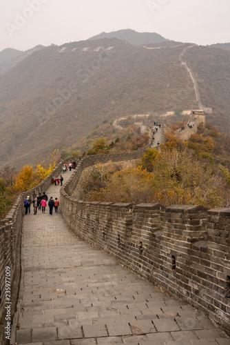 Fotobehang Chinese Muur Great Wall of China at Mutianyu