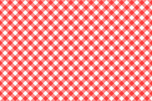 Gingham Red Checkered Seamless...