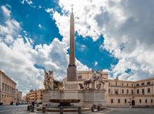 The Piazza Del Quirinale, On T...