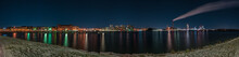 Panoramic Cityscape Of Helsink...
