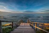 Fototapeta Łazienka - Jastrzębia Góra zejście na plażę