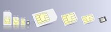 ESIM Embedded SIM Card Icon Sy...
