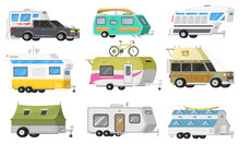 A Set Of Trailers Or Family RV...