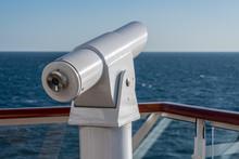 Optical Telescope On Deck Of C...