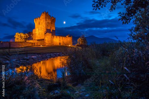 Ross Castle in Killarney, Republic of Ireland Canvas Print