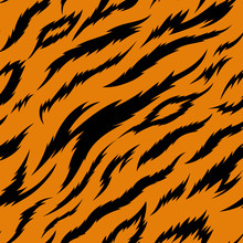 Tiger Stripes Seamless Vector ...