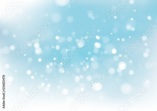 Recess Fitting Asia Country Blue bokeh abstract background. Vector illustration