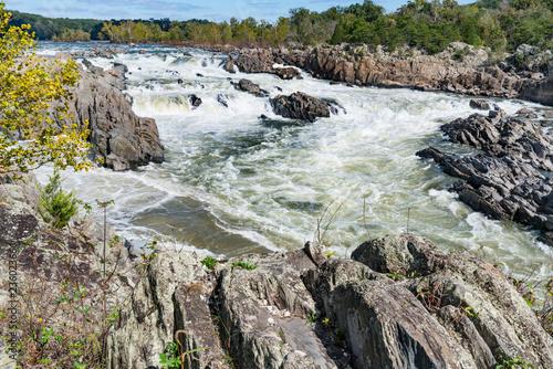 Αφίσα  Potomac River along Great Falls, Virginia