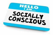 Socially Conscious Name Tag Aw...