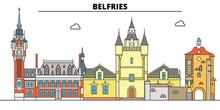 Belfries Of Belgium And France...
