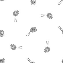 Magnified Global Glass Pattern...