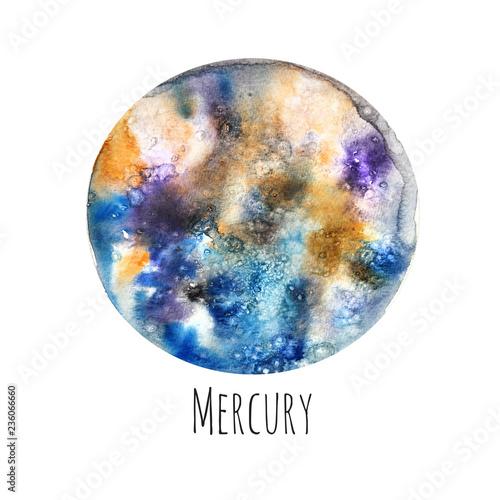 Obraz na plátně  Planet Mercury