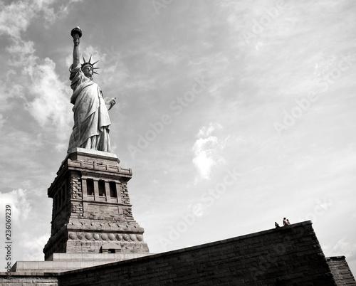 Monumento en Nueva York, Estatua de la Libertad, United States of America, USA