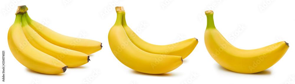 Fotografie, Obraz Bunch of bananas isolated