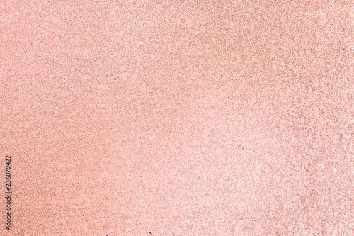 Valokuva  Close up of pink blush glitter textured background