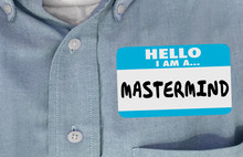 Mastermind Name Tag Sticker Ge...