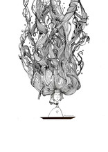 Black And White Ink Illustrati...