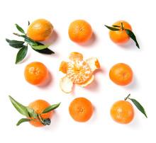 Ripe Orange Mandarine, Tangeri...