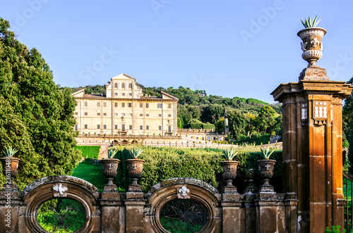 View of the Villa Falconieri. Frascati. Rome. Italy. Canvas Print