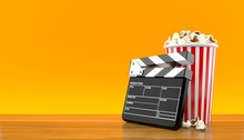 Popcorn And Clapboard
