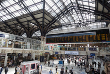 Liverpool Street Station In Liverpool, England