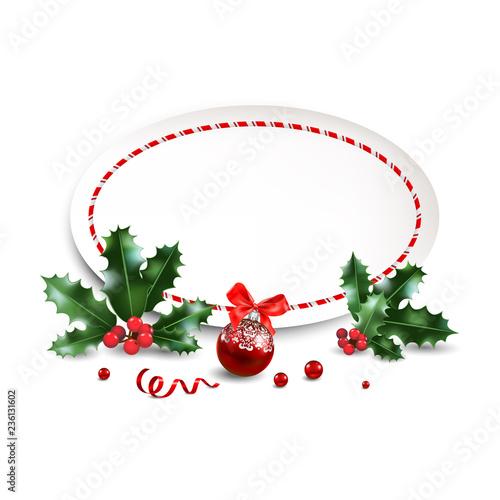 Christmas Leaflet Background.Christmas Festive Design For Banner Ticket Leaflet Card