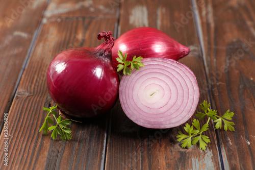 Fotografía fresh red onion