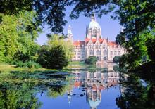 Hannover,das Neue Rathaus