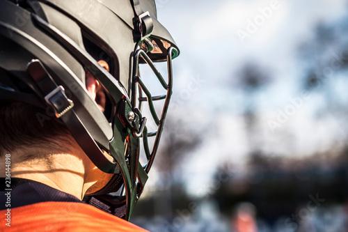 Fotografiet  Lacrosse themed photo, American Sports.
