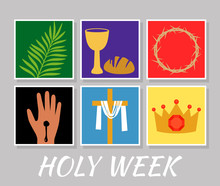 Christian Banner Holy Week Wit...