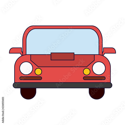 Poster Cars Car vehicle front view