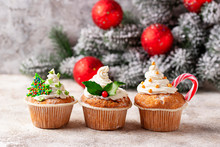 Christmas Festive Cupcake With...