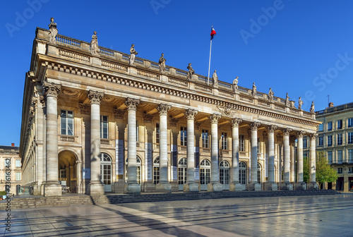 Tuinposter Theater Bordeaux National Opera, France