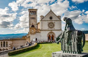Assisi - Basilica San Francesco Upper Church, Umbria, Italy