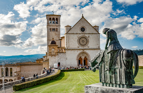 Assisi - Basilica San Francesco Upper Church, Umbria, Italy