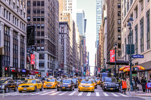 Foto op Plexiglas New York TAXI New York City