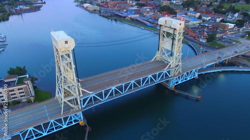 Fényképezés Portage Lake Lift Bridge Hancock/Houghton MI