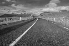Iceland Empty Road