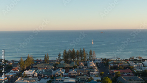 Fotografiet Byron Bay Panorama