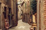 Fototapeta Uliczki - Pitigliano city street