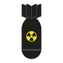 Rocket Bomb Flies Down.