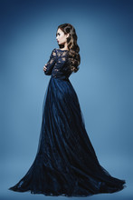 Fashionable Evening Dress