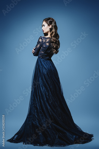 Fotografie, Tablou fashionable evening dress