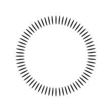Geometric Circle Element Made ...