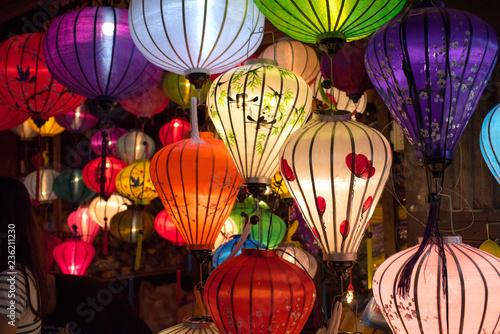 Deurstickers Asia land Vietnamese lanterns in Hoi An Night Market ホイアン・ナイトマーケットの提灯
