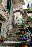 Fototapeta Na drzwi - view of cinque terre italy, in cinque terre, Liguria, Italy